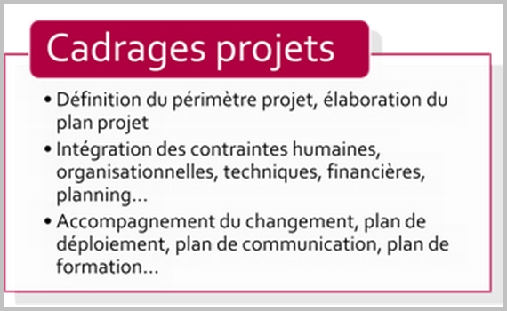 Cadrages projet